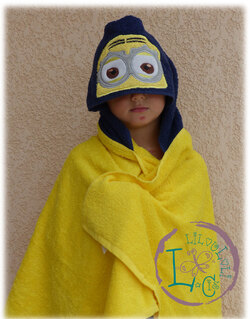 - Attention minion dans la salle de bain !