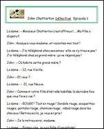 John Chatterton Détective (en cours de réalisation!)