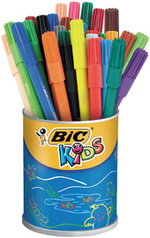 Feutres de coloriage (pots).