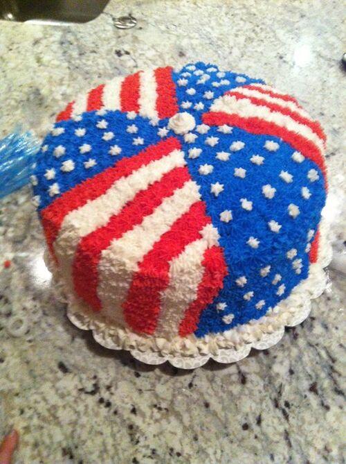 ∗ 4 Juillet - Independence Day : ma sélection de 10 gâteaux en pâte à sucre