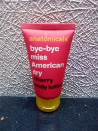 Cherry body lotion de chez Anatomicals