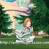 Nova étudiant dans les jardins d\'Alfea