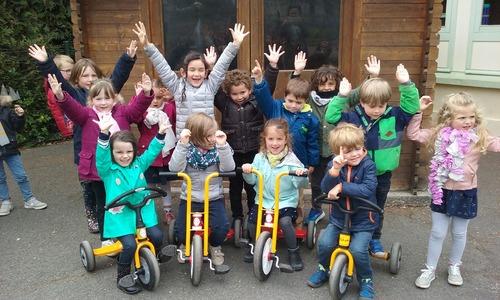 L'APEL achète des vélos pour la maternelle