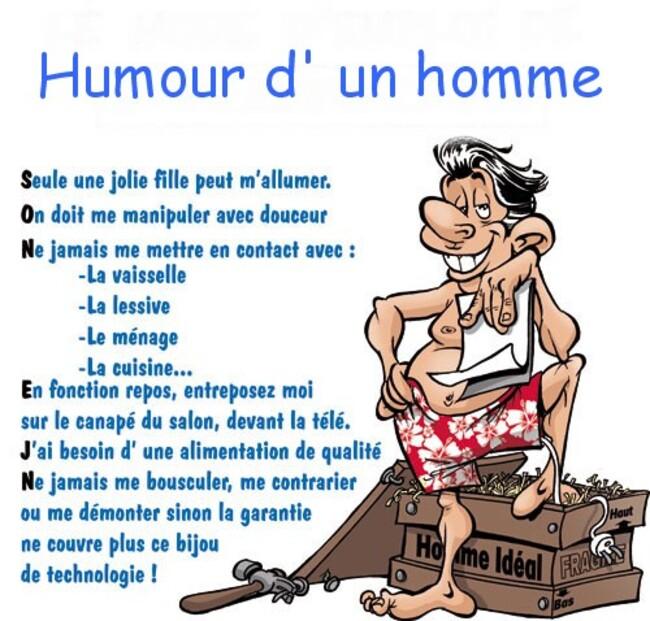 Humour du jeudi ... !!!