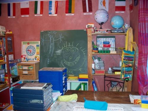 notre pièce d'école