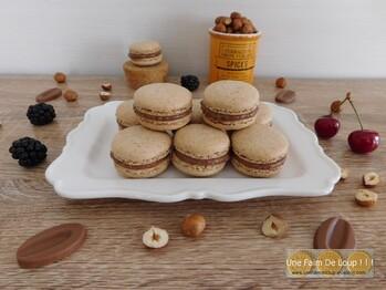 Macarons à la noisette