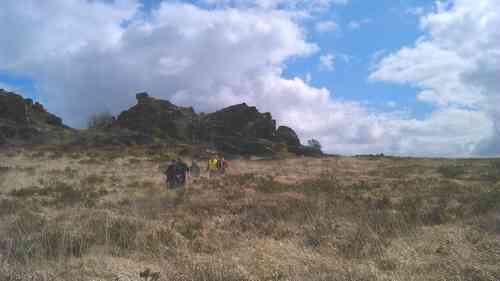Les Monts D'arrée le 27 Mars