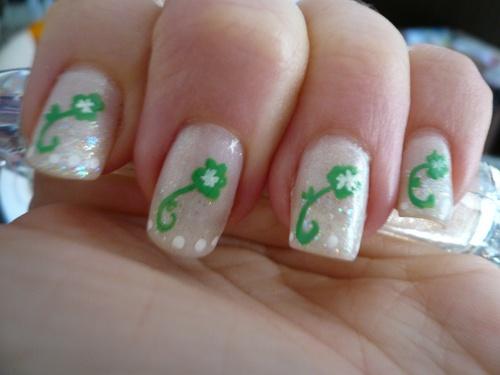Nail art de la Saint Patrick