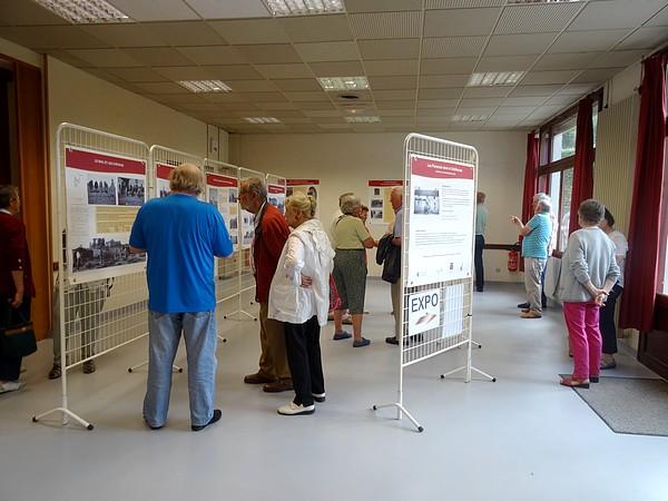 """L'exposition """"Des Flamands dans le Châtillonnais"""" a été présentée à Aignay-le-Duc ...."""