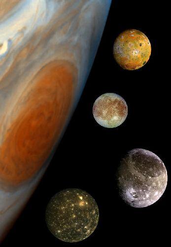Jupiter est sa famille