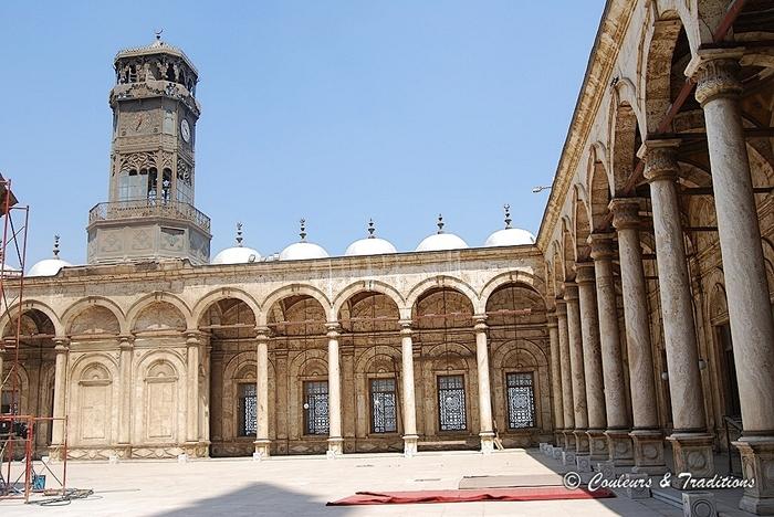 La mosquée de Mohamed Ali dans la citadelle