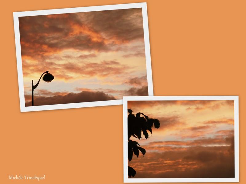 Le ciel au matin du 7 octobre....