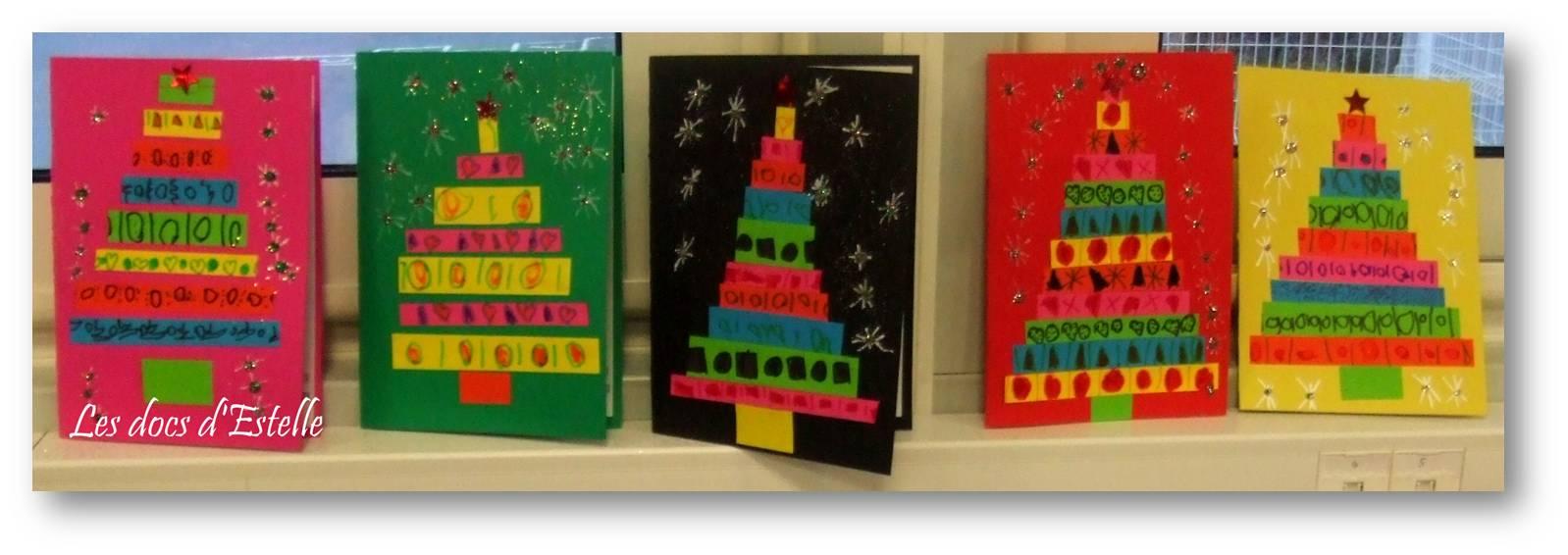 Des cartes pour Noël   Les docs d'Estelle
