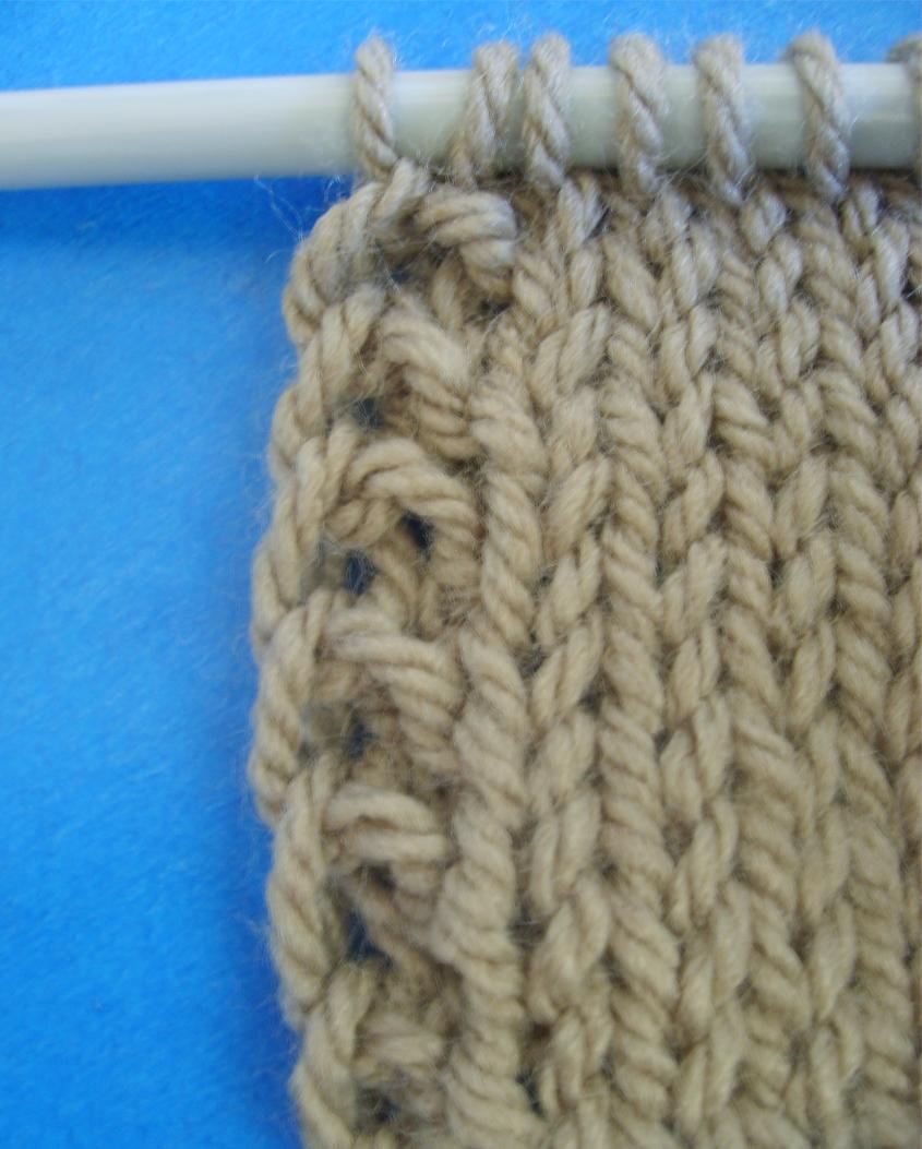 [vidéo] Comment tricoter une bordure verticale i cord