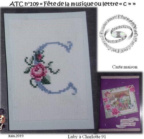 """ATC """"Fête de la musique"""" ou lettre """"C"""""""