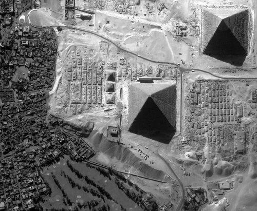 Mystères de la grande pyramide.