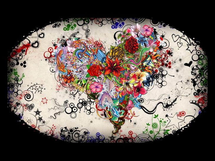 Mes Tubes Fonds Amour Série 3