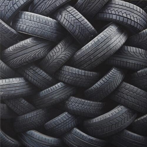 08 - Le pneu...dans l'art