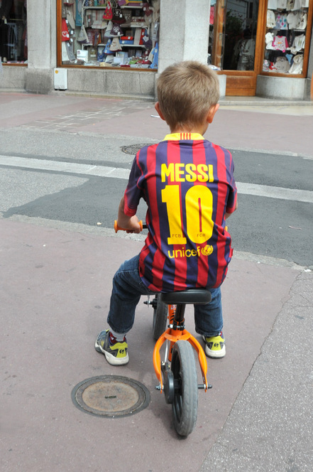 Annecy : little Messi
