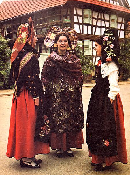 Costumes catholiques du Kochersberg