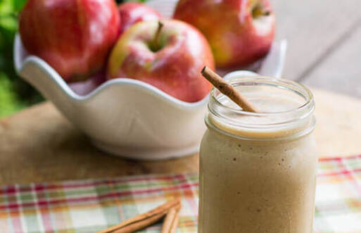 smoothie-pomme