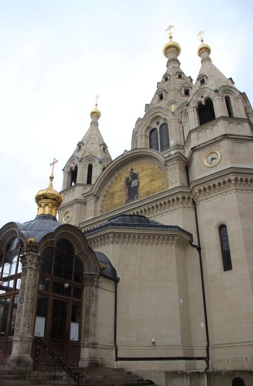 La cathédrale Alexandre-Nevski à Paris