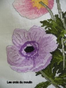 Coussin bouquet d'anémones (4)