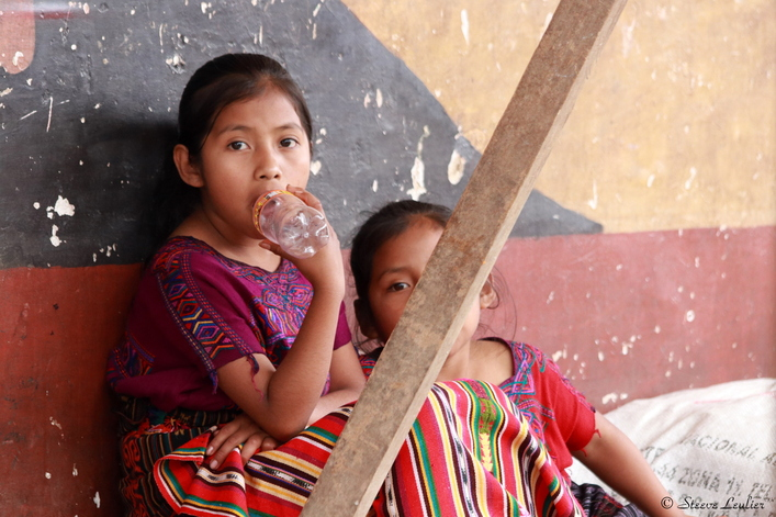 Costumes traditionnels de la minorité maya du Guatemala