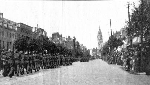 Le 8 mai 1945 dans la lisse