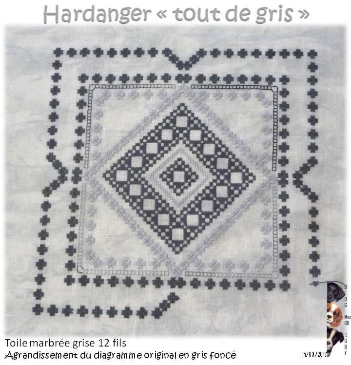 """Hardanger """"tout de gris"""" 4"""