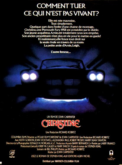 CHRISTINE BOX OFFICE 1984