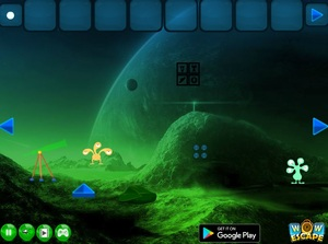 Jouer à Alien planet escape