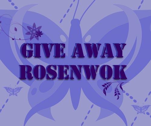 Giveaway chez Rosenwok