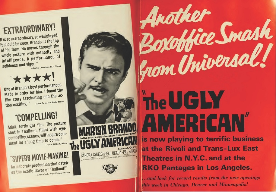 THE UGLY AMERICAN BOX OFFICE 1963