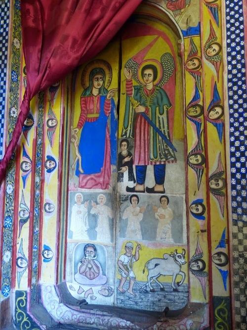 les peintures religieuses de l'église Batra Maryam - suite et fin