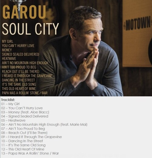 "Garou : CD "" Soul City "" Pantheon Records [ FR ]"