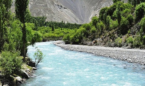 13. The bubbling river of Chitral