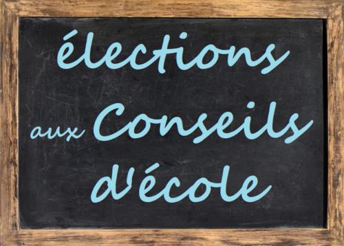 élections des parents d'élèves de 8h30 à 12h30 le 11 octobre