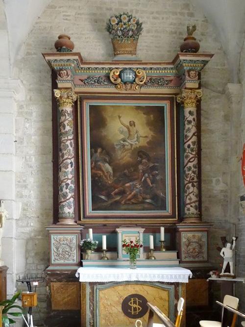 Les reliques de saint Bernard et des moines de Clairvaux, à Ville sous la Ferté dans l'Aube