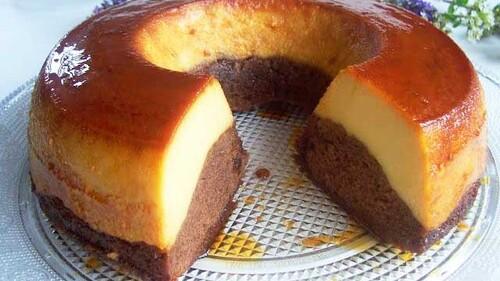 Mon gâteau de semoule