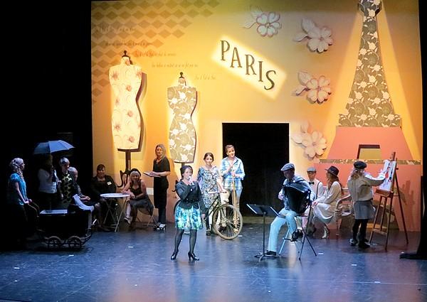 Hommage aux Châtillonnais(e)s qui ont si bien animé l'élection de Miss Côte d'Or !