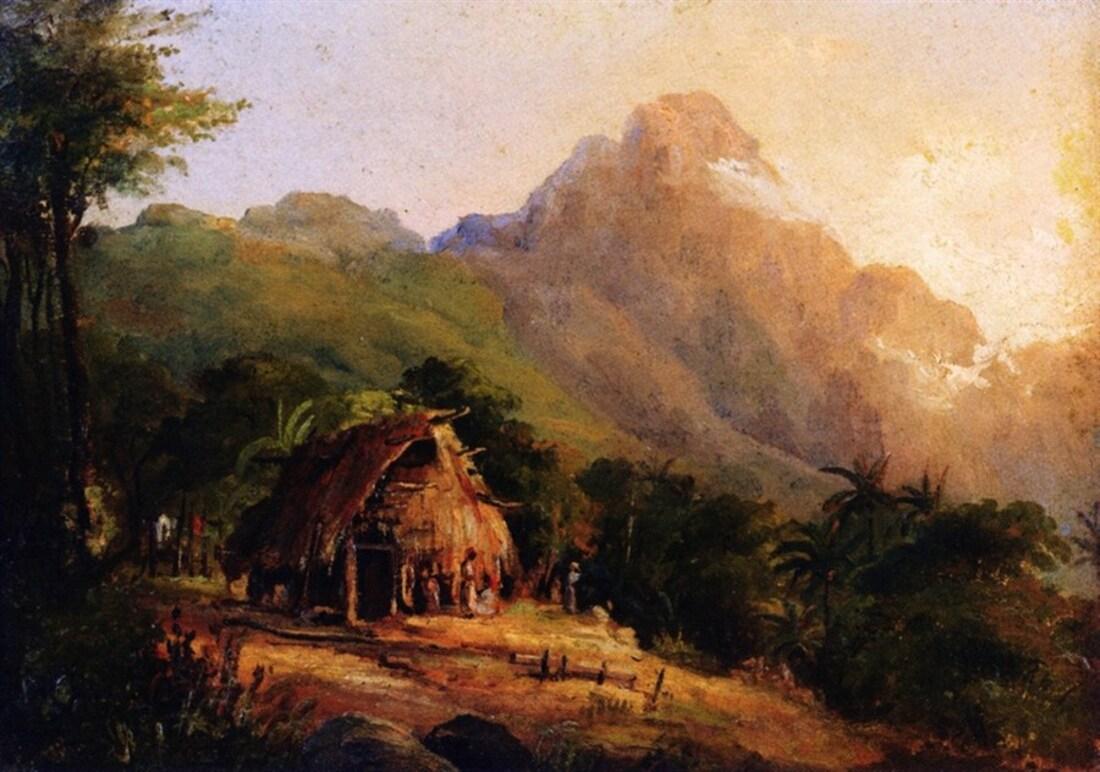 Camille Pissaro , l'homme de St Thomas des Antilles  .