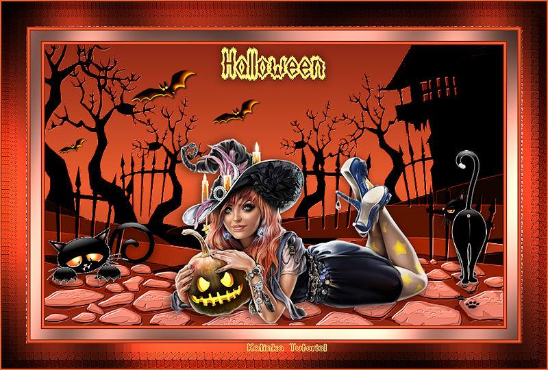 Katinka - Tutorial - Halloween
