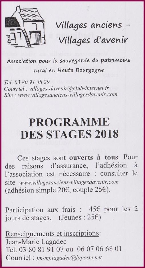 L'Assemblée générale 2018 de Villages Anciens, Villages d'Avenir s'est tenue à Arc en Barrois