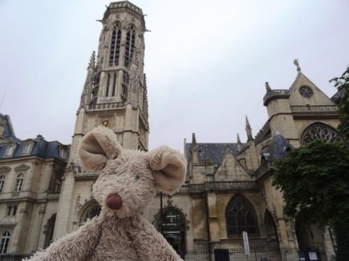 Fin de la promenade de Minizup'tite à Paris