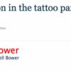 Tatouage Jamie Campbell Bower