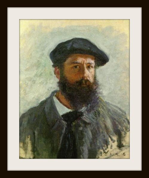 gentil coquelicot Claude Monet portrait