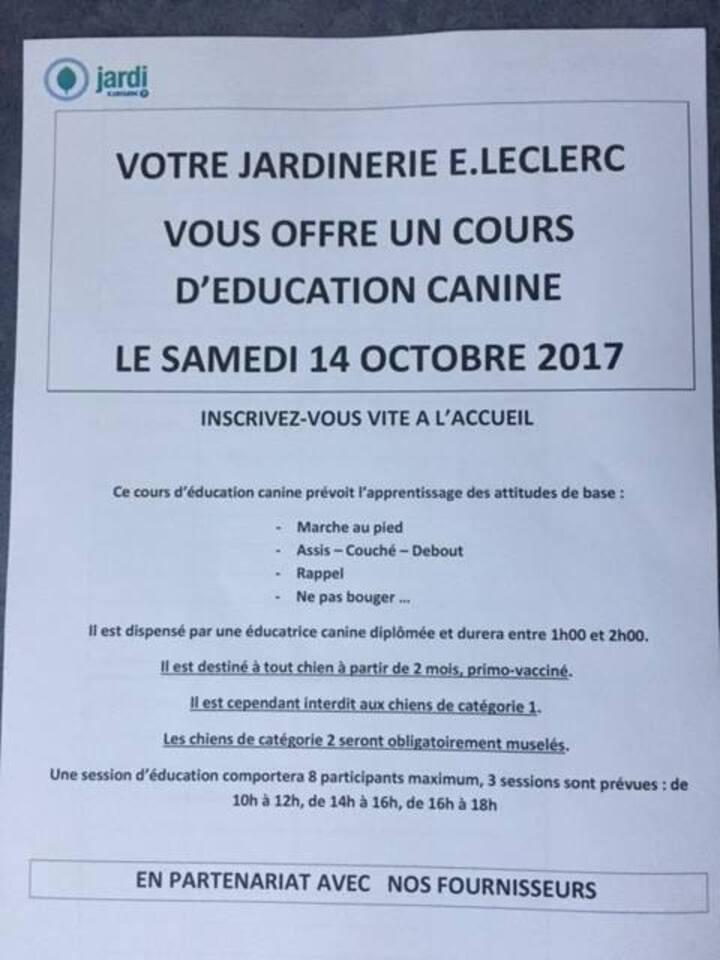 Ce samedi, je serai présente à la jardinerie Leclerc de Chateaulin