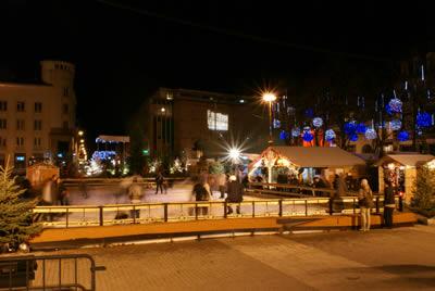 Poitiers : retour de la patinoire pour les fêtes de Noël