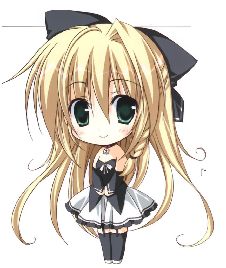 Render chibi fille hey mangas - Fille manga chat ...